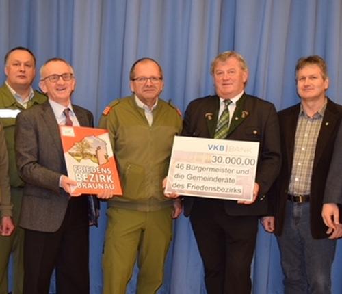 Braunau Am Inn Braunauer Gemeinden Spenden 3000000 Euro