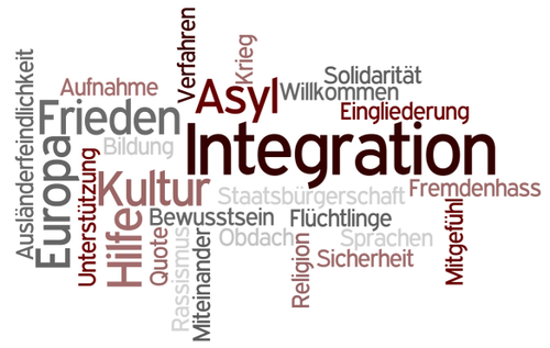 Asyl, Integration