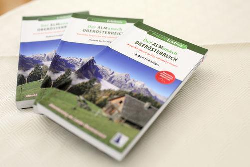 """Drei Taschenbücher """"Der Almanach Oberösterreich"""""""