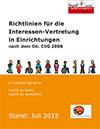 Richtlinien für die Interessen-Vertretung in Einrichtungen nach dem Oö. ChG 2008