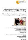 Lebensmittelweitergabe in Österreich: ein aktiver Beitrag zur Abfallvermeidung (Kurzfassung)