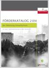 Förderkatalog 2014 für Umwelt-und Energieförderungen im Nicht-Wohnbereich