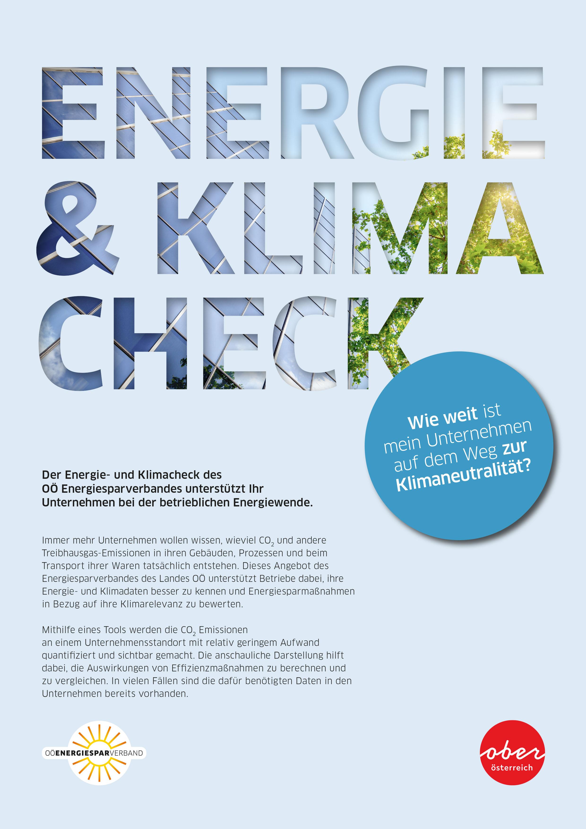 Energie- und Klimacheck