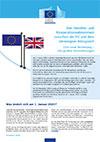 Handels- und Kooperationsabkommen zwischen der EU und dem Vereinigten Königreich