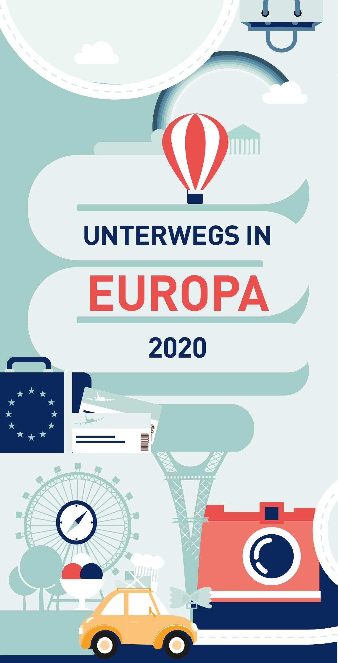 Unterwegs in Europa 2020