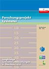 Forschungsprojekt Lysimeter, Berichtszeitraum 1995 - 2016