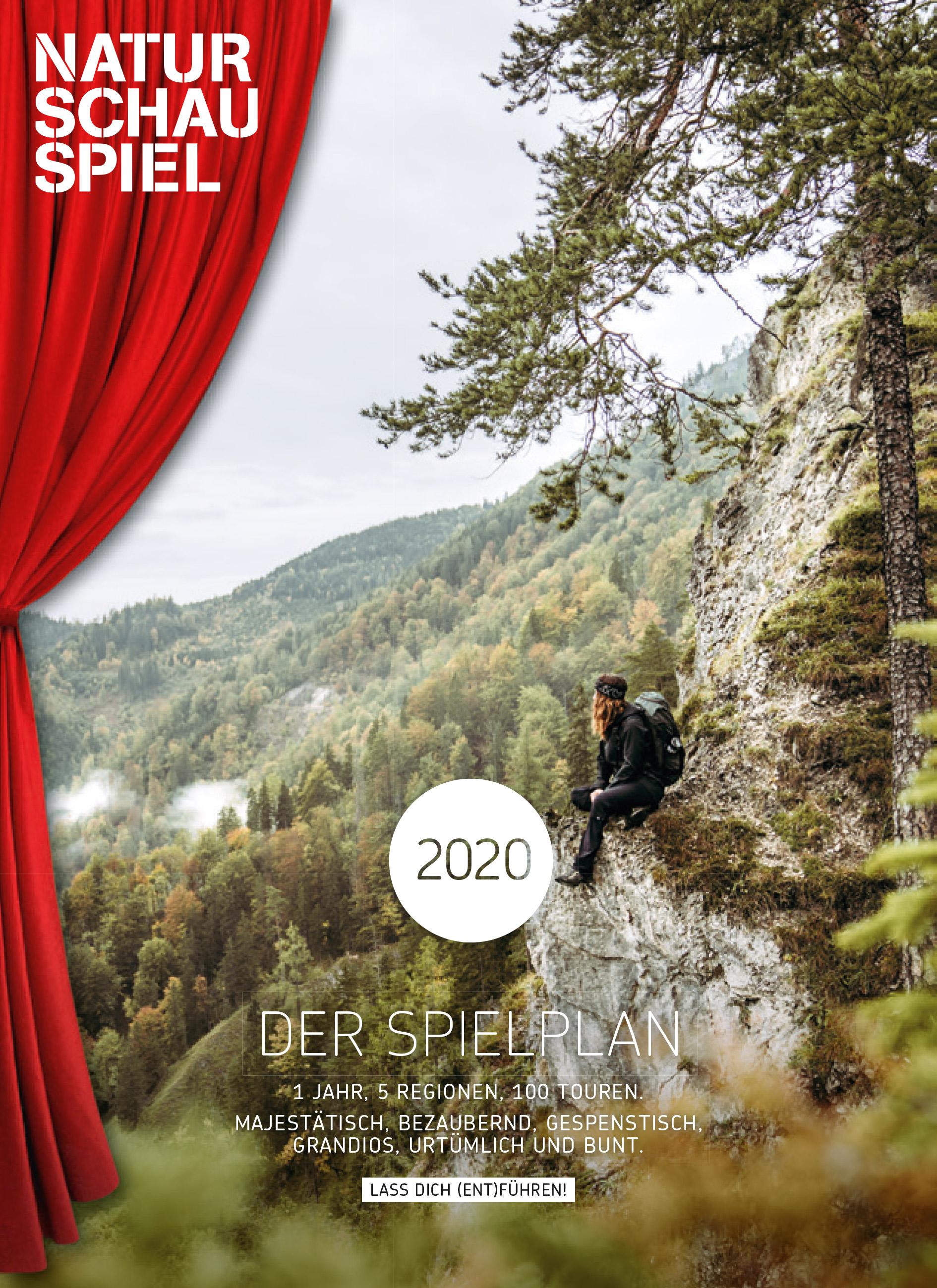 NATURSCHAUSPIEL - Spielplan 2020