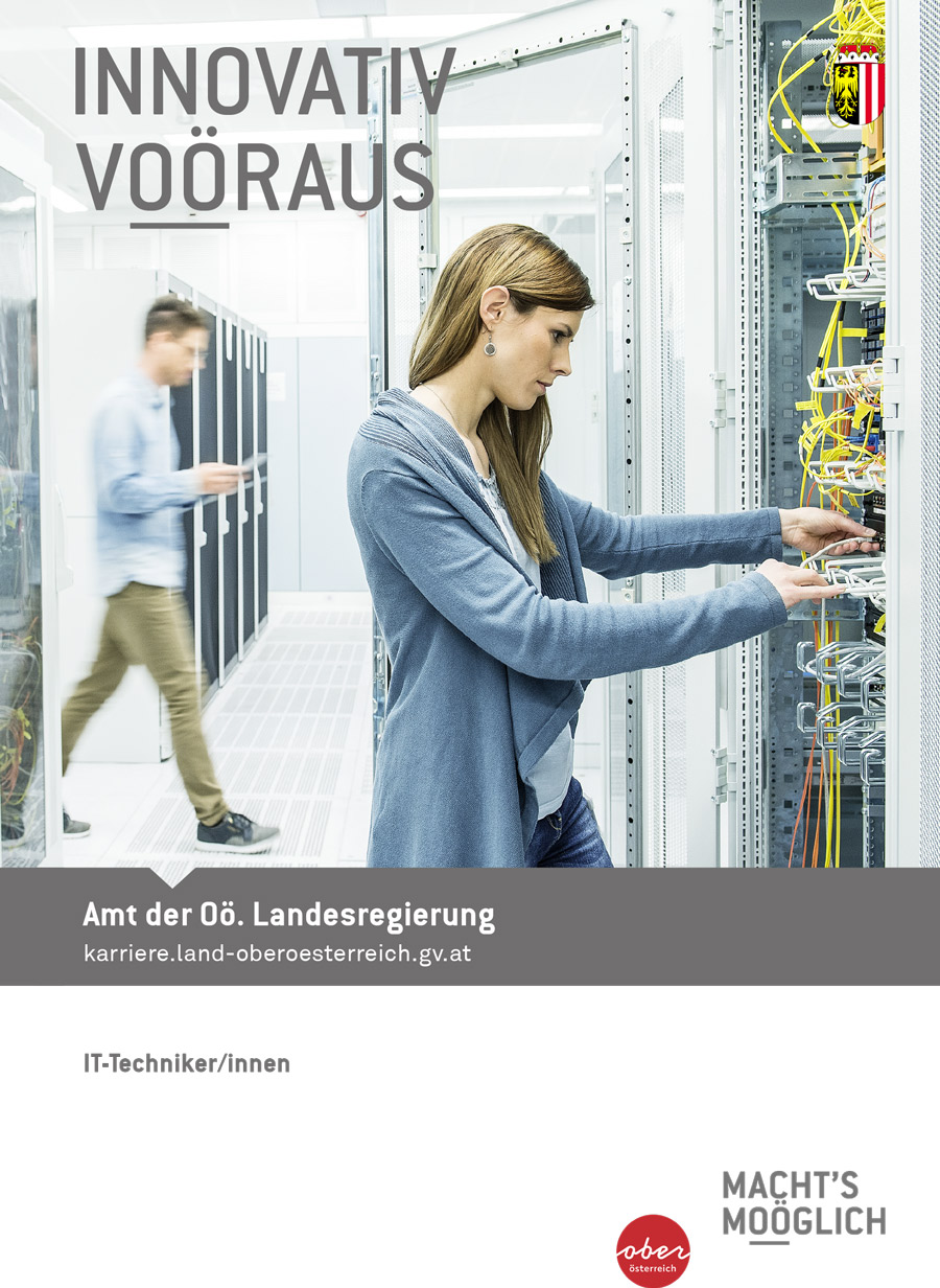 INNOVATIV VOÖRAN - IT-Technikerinnen und IT-Techniker