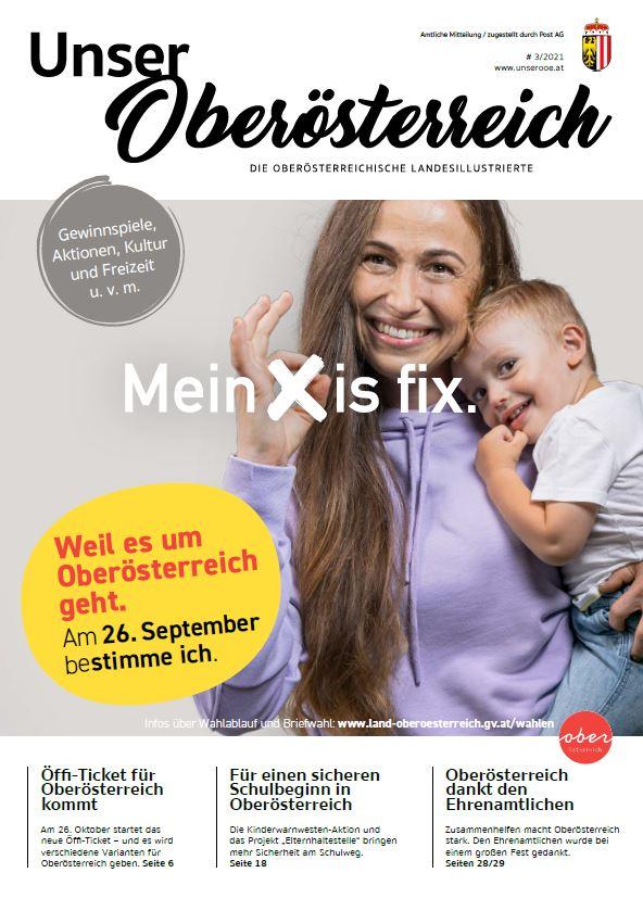 Unser Oberösterreich - Ausgabe 3/21