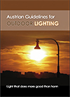 Austrian guidelines for outdoor lighting