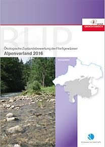 BUP - Ökologische Zustandsbewertung der Fließgewässer - Alpenvorland 2016